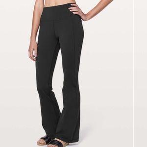 Lululemon Groove Pant Flare Black size 2